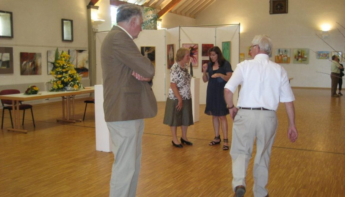 Biller-a Konschtausstellung Vernissage