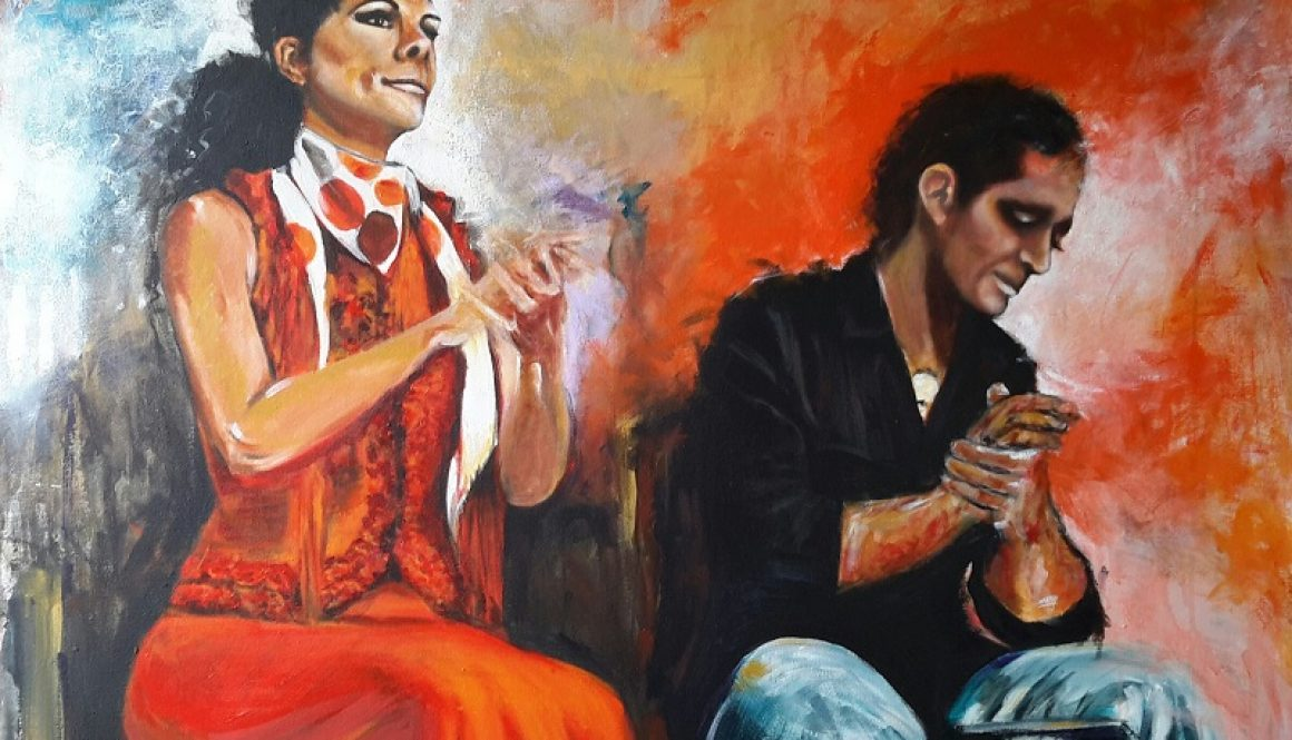 CANTE, 120 x 90 cm, Acrylic on Canvas, (SOLD)